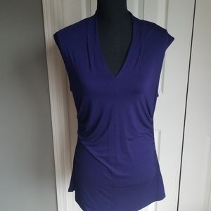 Casual top by cable & gauge